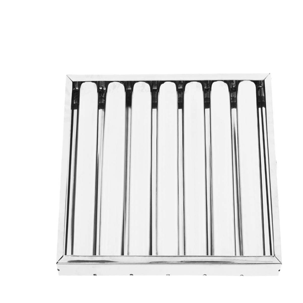 Box Of 6 Defense Galvanized Steel Commercial Hood Baffle Grease Filter 20 X 20 By Five Star Store.