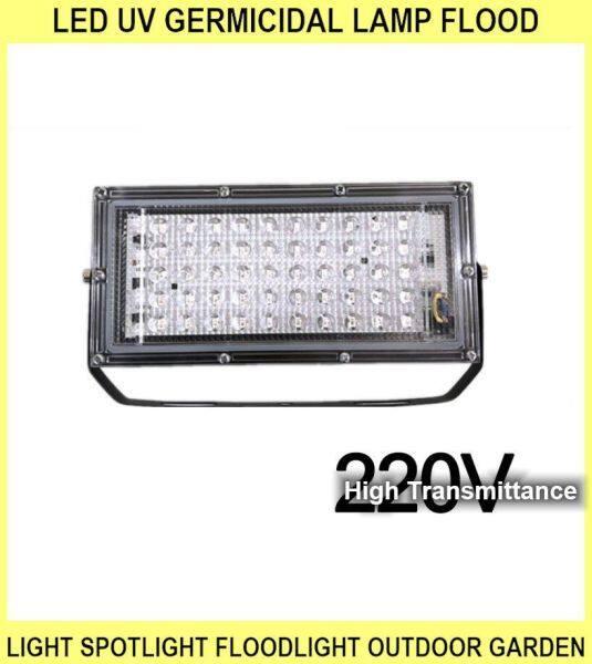 LED Uv Germicidal Lamp Flood Light Spotlight Floodlight Outdoor Garden Wall Lamp Street LED Reflector Cast Light - 50W