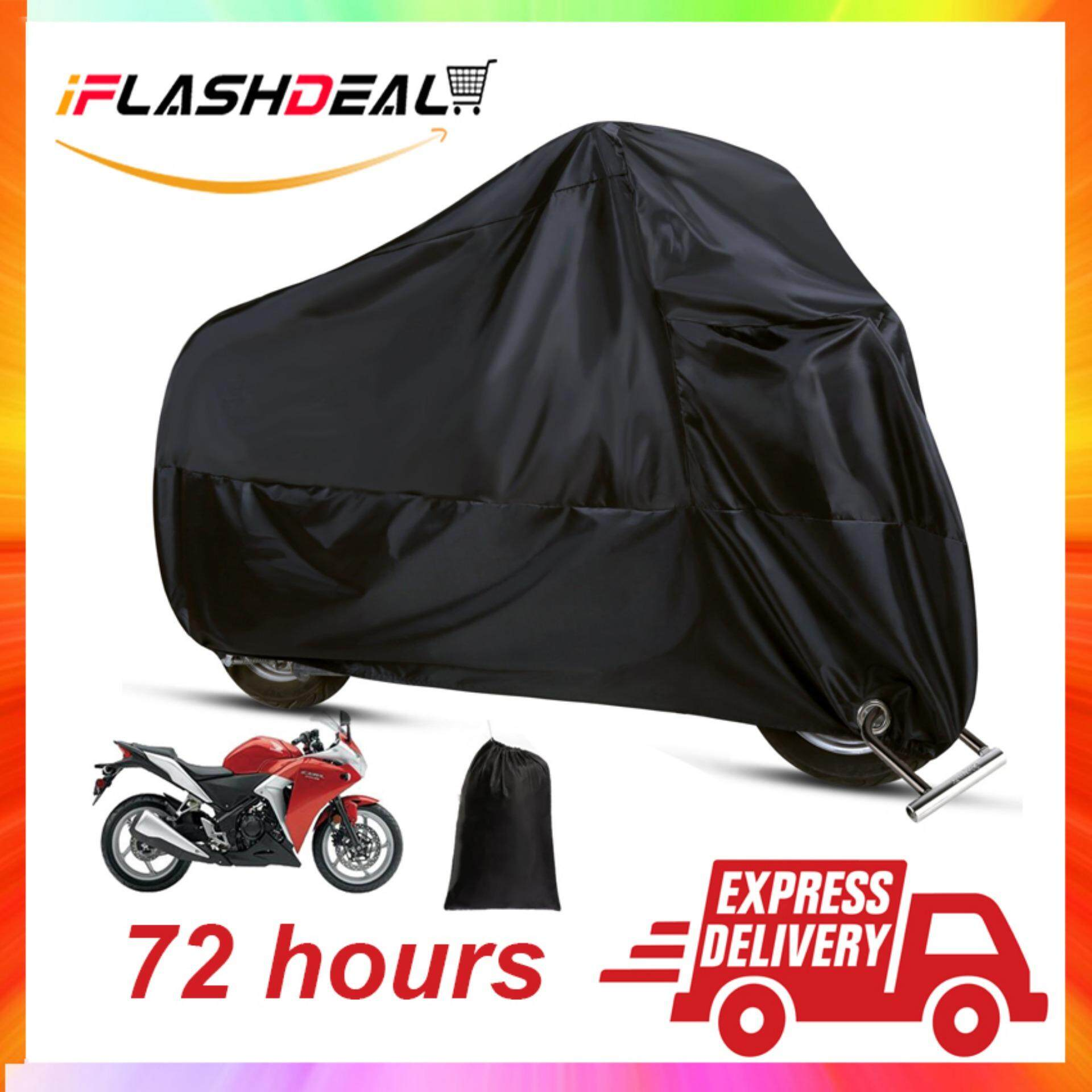 iFlashDeal Motorcycle Covers Rain Waterproof Motorbike Cover Sun Shade  Protector Case Rain Protection for Bicycle Scooter XXL