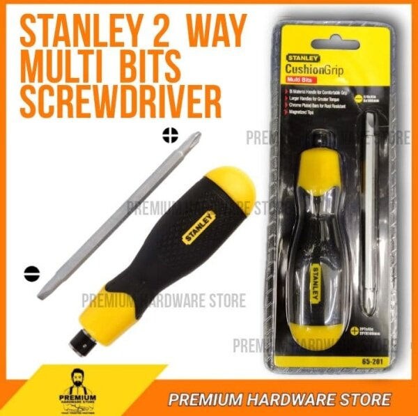 Stanley 2 way Multi Bits Screwdriver