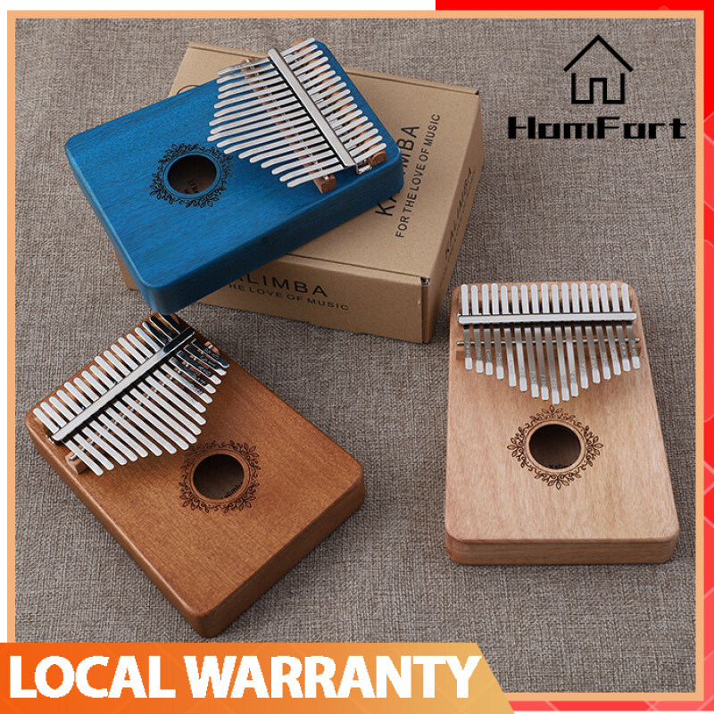 Kalimba 17 Key Mahogany Body Thumb Piano Musical Instrument Thumb Piano Malaysia