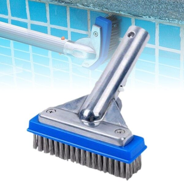 5.5in Pool Brush Cleaning Quickly For Cleaning Pool Wall Heavy Duty High Quality