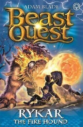 Beast Quest 106 Rykar The Fire Hound ISBN 9781408343258