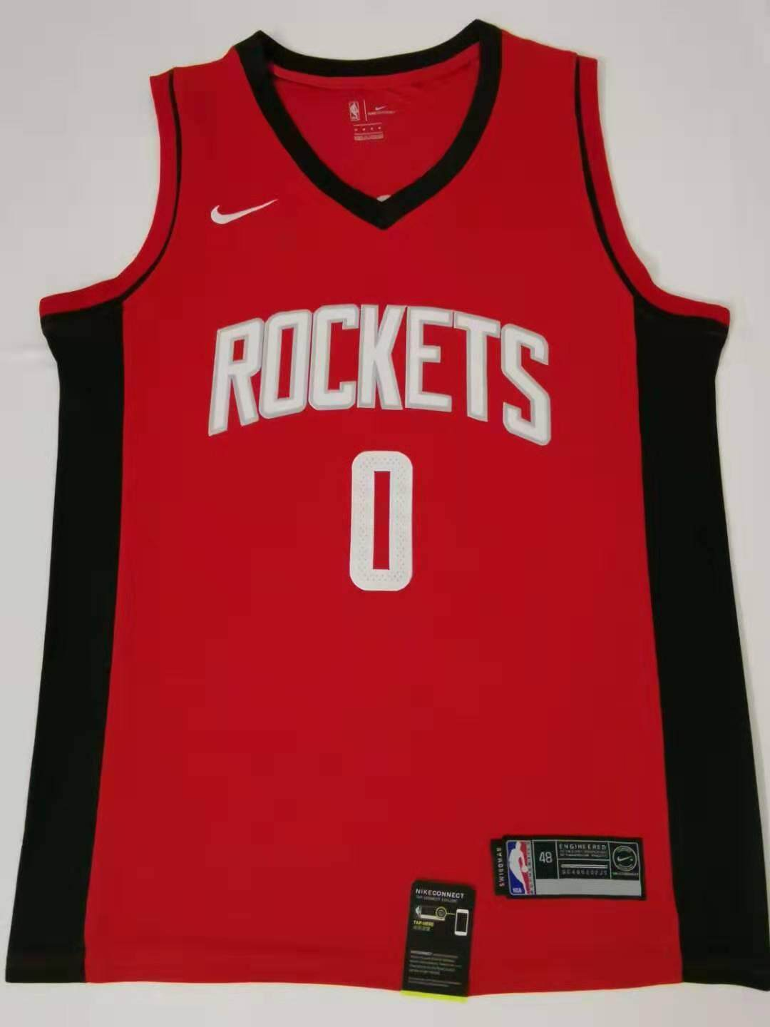 new concept 60541 16fef Russell Westbrook Houston Rockets Nike_NBA Swingman Jersey Red – Icon  Edition