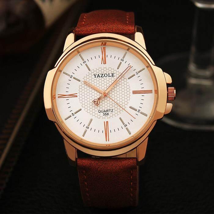 [CNY 2020] YAZOLE 358 Top Luxury Brand Watch For Man Fashion Sports Men Quartz Watches Trend Wristwatch Gift For Male jam tangan lelaki Malaysia