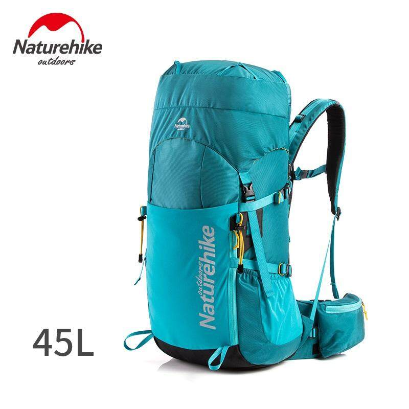 Naturehike 2019 New 45l Professional Outdoor Backpack Ultralight Hiking Camping Climbing Backpack With Free Rain Cover By Mubai Trading.