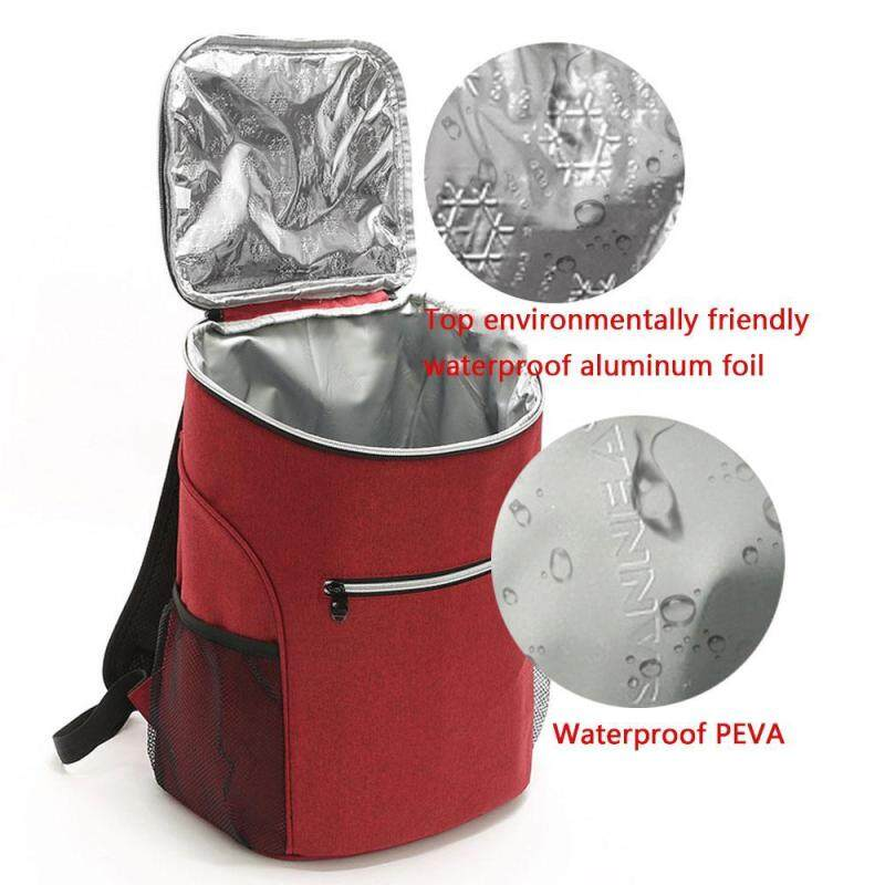 efuture 20L large capacity insulated backpack, outdoor picnic lunch dinner waterproof storage bag.