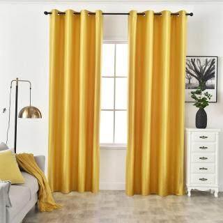 Napearl 70% -80% Rèm màu đen Cửa sổ phòng ngủ được thiết kế hiện đại Langsir thumbnail