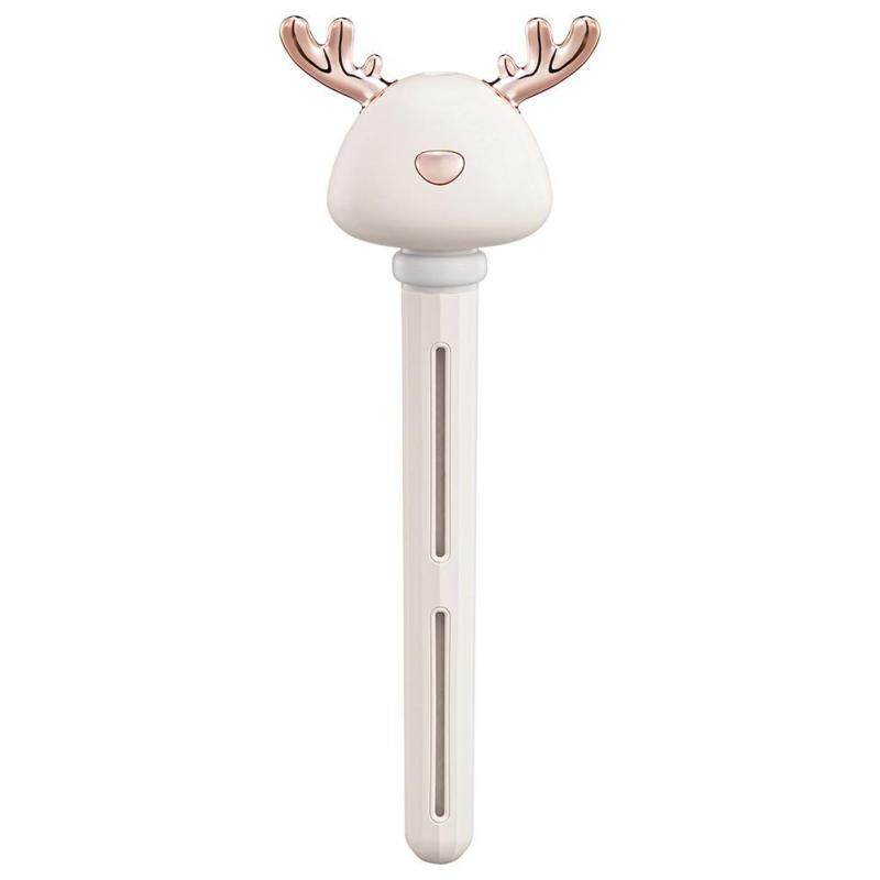 40ml/h Deer Antler Ultrasonic Air Humidifier USB Essential Oil Diffuser Singapore