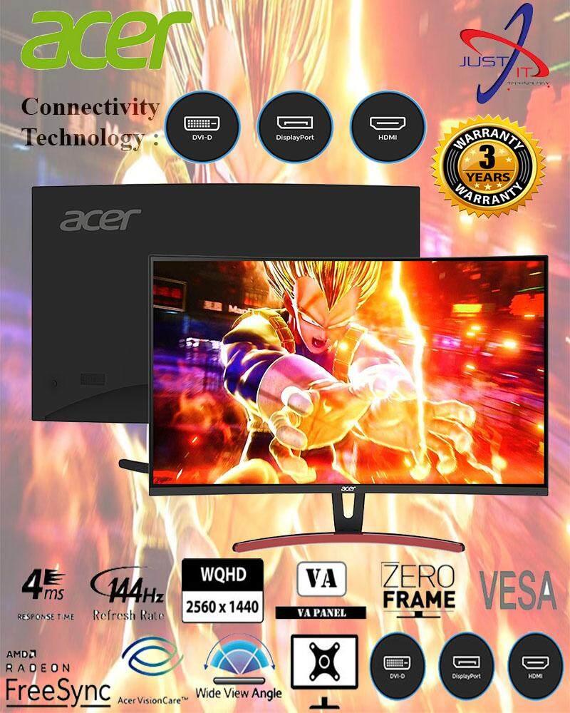 ACER ED323QURA 31.5 WQHD 144HZ 4MS AMD FREESYNC CURVE MONITOR Malaysia