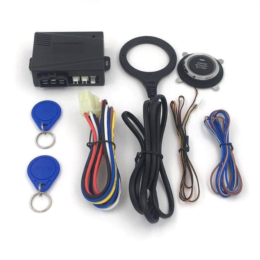 OSMAN Dark Lock Anti-theft Device Car One-button Start Modification System NQ-ST9005