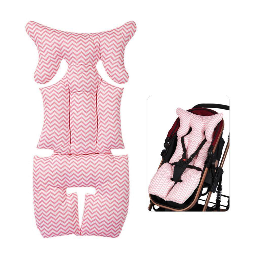 Baby Stroller Pram Car Seat Cushion Pad Liner Head Body Support Pillow Mat Safe