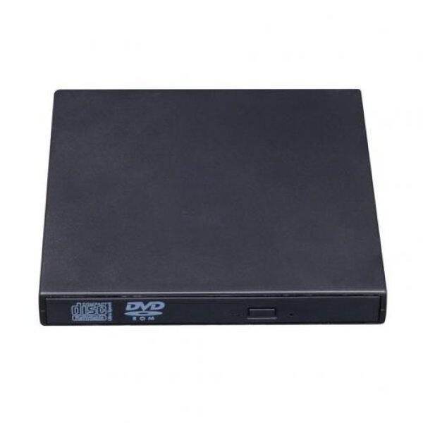 Bảng giá Bên Ngoài USB 2.0 DL DVD RW Burner CD Ghi Ổ Đĩa Quang Di Động Mỏng Cho Máy Tính Xách Tay Phong Vũ