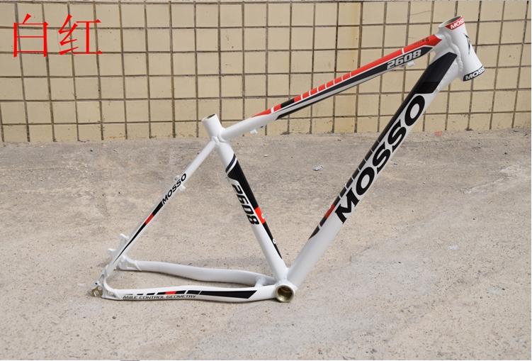 ข้อเสนอพิเศษกรอบโมเสค2608กรอบจักรยานเสือภูเขาโครงรถจักรยานอะลูมิเนียมอัลลอยกรอบน้ำหนักเบา.