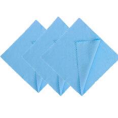 6 Cái Tấm Kính Làm Sạch Vải Khăn Lau Chamois Glass Cleaner Cho Ống Kính Điện Thoại