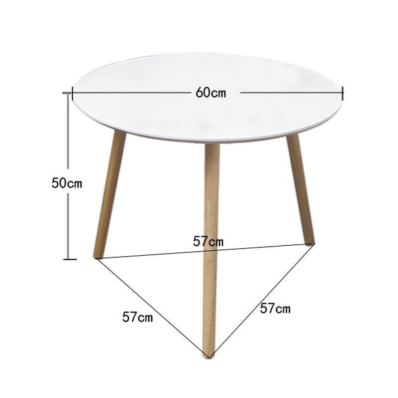 Ruyiyu - Norbic 3 ขาโต๊ะกาแฟ, รอบ End โต๊ะด้านข้าง, ขาตั้งกลางคืนตาราง, โทรศัพท์โซฟาโต๊ะอาหารว่างสำหรับห้องนั่งเล่นบ้านและห้องนอน By Happy Kithchenwarestore.