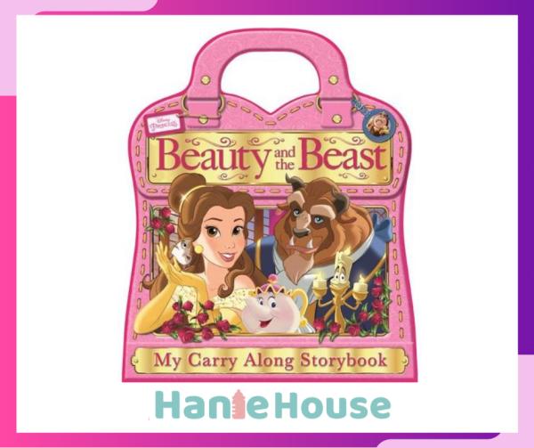 Disney Princess Beauty & the Beast Carry Along Foam Story Book with Handle Malaysia