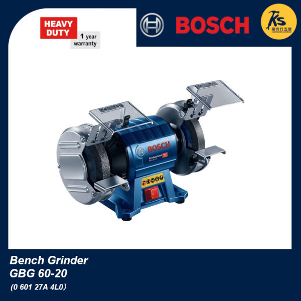 BOSCH Double Wheeled Bench Grinder  GBG 60-20 Professional ( 0 601 27A 4L0 )