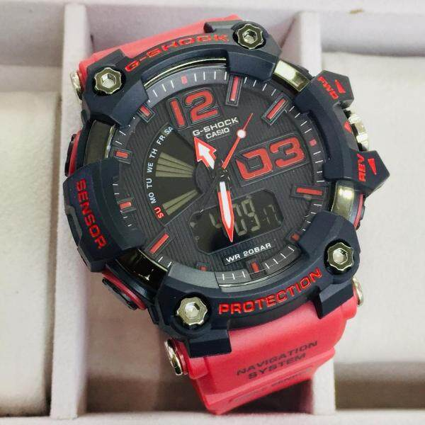 SPECIAL PROMOTION CASI0 G..SHOCK..Mudmaster DUAL TIME RUBBER STRAP WATCH FOR MEN(with free gift) Malaysia