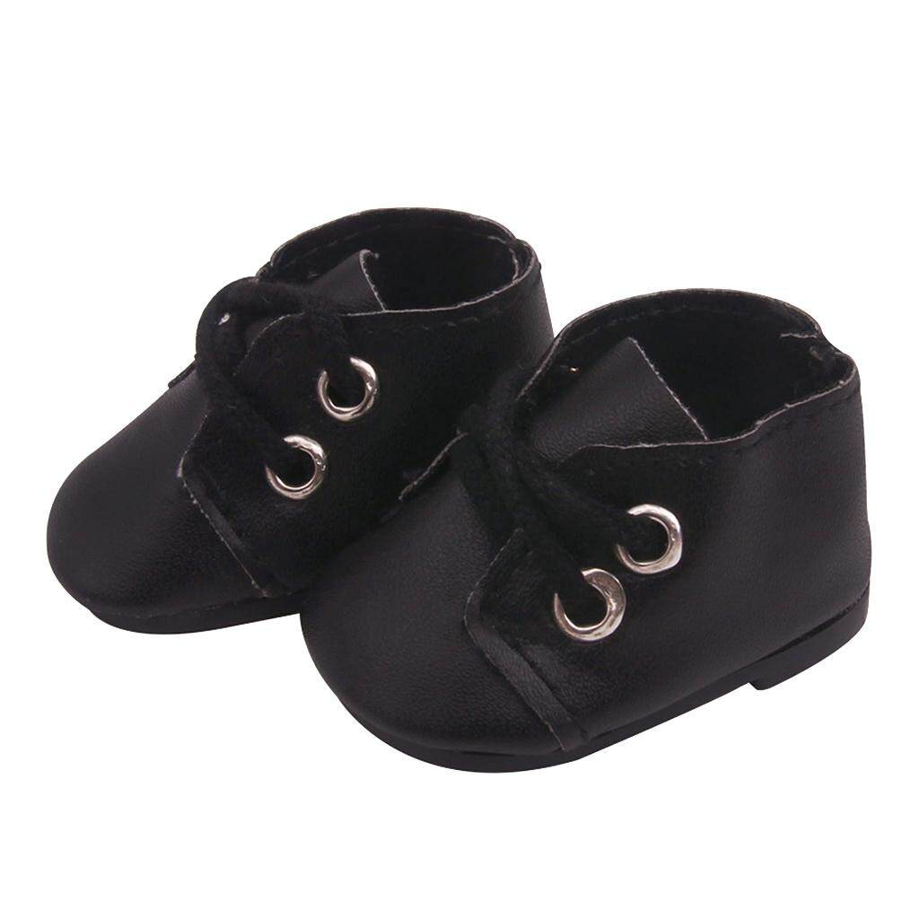 14.5inch Girl Doll Boots Shoes Flat for American Doll Clothes Accs Kids Gift