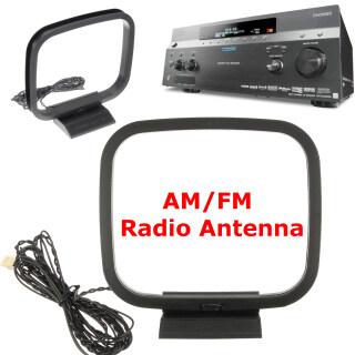 1 2 Ăng Ten Radio Vòng Sóng Trung Bình FM AM Nâng Cao, Cho Máy Thu AV Sony CMT-EH10 thumbnail