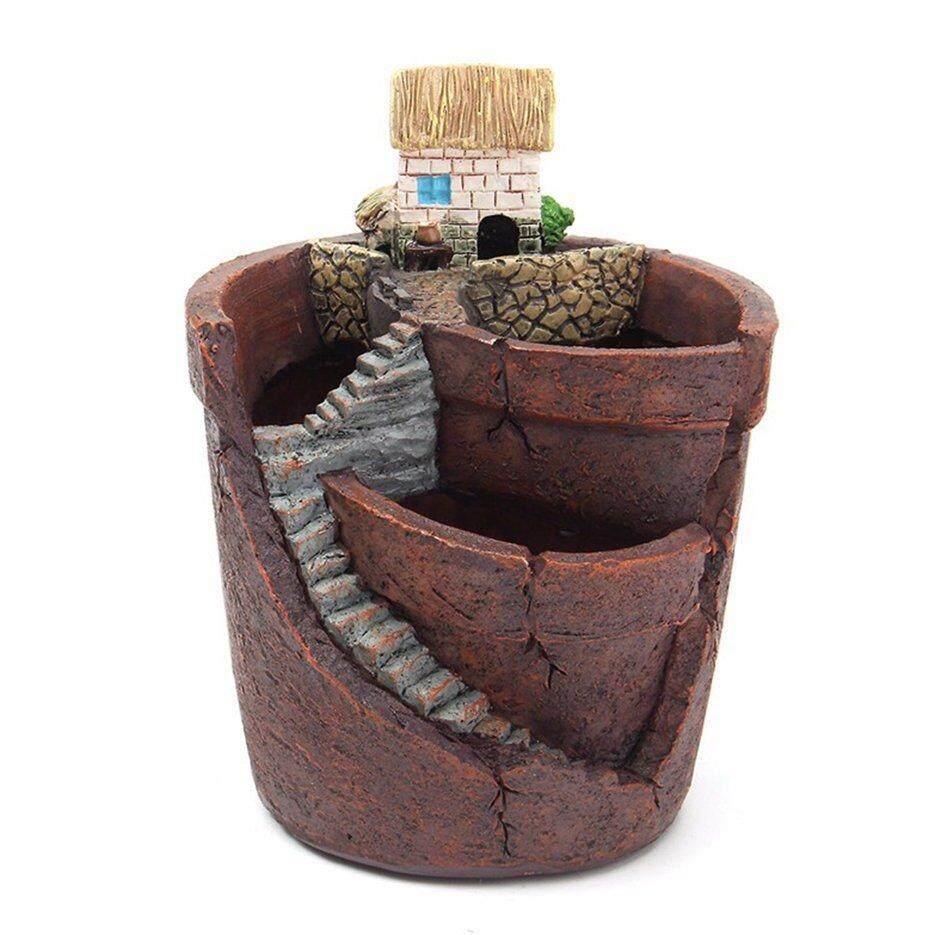 Hot Sellers Creative Plants Pot City of Sky Succulent Plant Pot Flower Basket Planter Pot