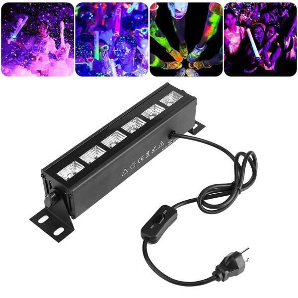 Đèn LED UV 27W Magic Sound, Đèn Sàn Nhảy Trên Sân Khấu, Quán Bar USB Màu Đen