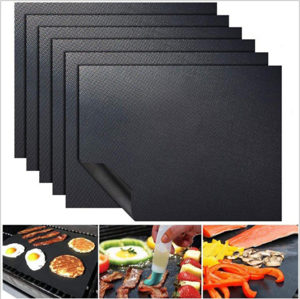 Dream Hunter 1/2/3/5 Pcs Copper Grill Mats Non-Stick Grill Mats For Gas, Charcoal, Or Electric Grills.