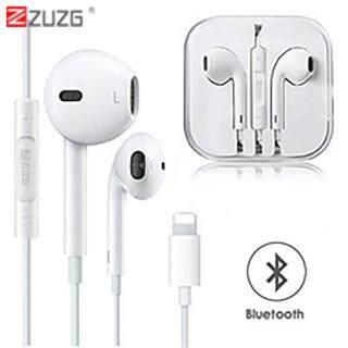 [[Zuzg]] Cho Lightnings Bluetooth Tai Nghe Chụp Tai Có Dây Tai Nghe Có Micro Gọi Nghe Nhạc Cho IPhone 8 7 Plus X XR XS Max thumbnail