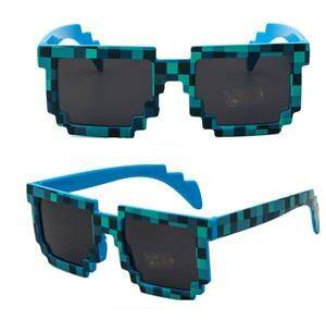 Minecrafter Square Glasses Fashion Sunglasses Kids Action Game Toys