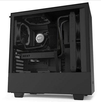 NZXT H510 Compact Mid-Tower Case with Tempered Glass image on snachetto.com