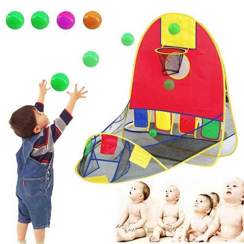 Bsex Ball Scoring Tent Children Play Tent Game House Dollhouse Basketball Basket Tent By Bsex.