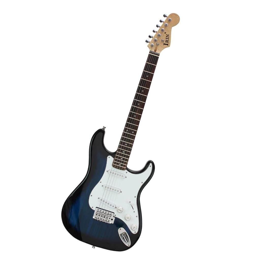 Baoblade Gỗ Nhạc Cụ Đàn Guitar Điện với Bộ Phụ Kiện-Xanh Dương