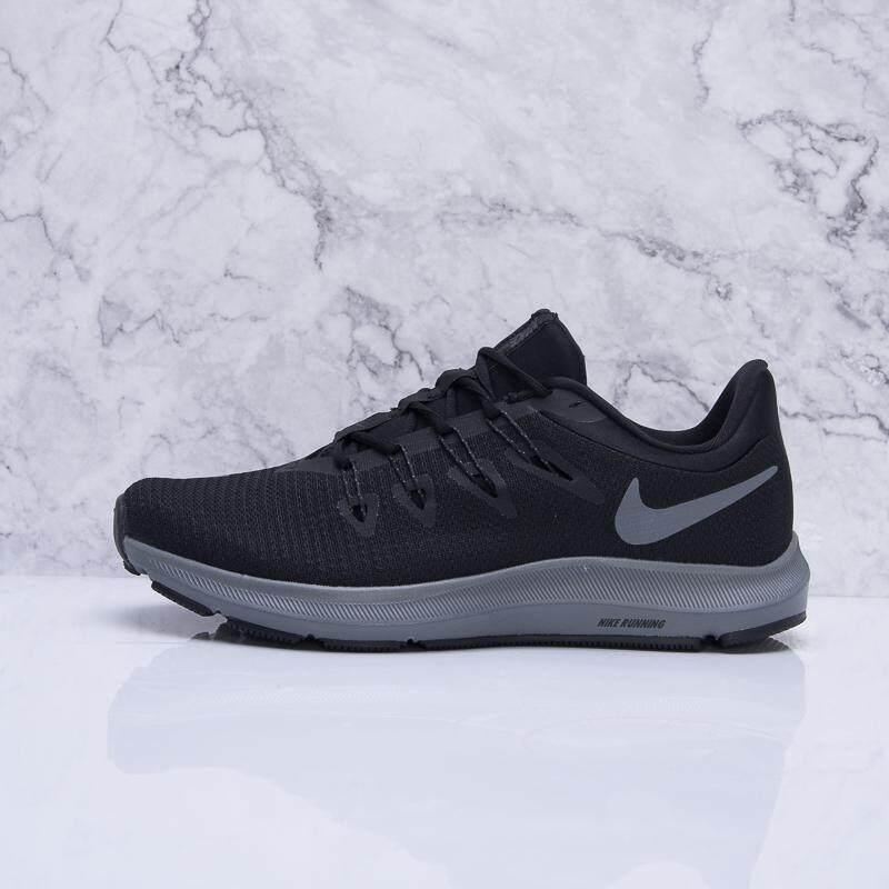 8feacc2f7 Nike Sepatu Pria Baru Musim Panas Hitam Sepatu Lari Ringan Sepatu Olahraga  Nyaman Bulan Mata Jala