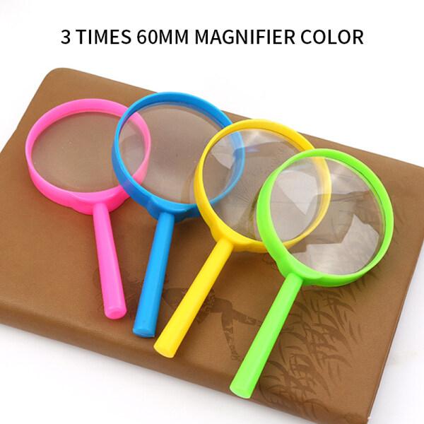 Handheld Reading Magnifier Magnifying Glass For Seniors Kids 1Pcs
