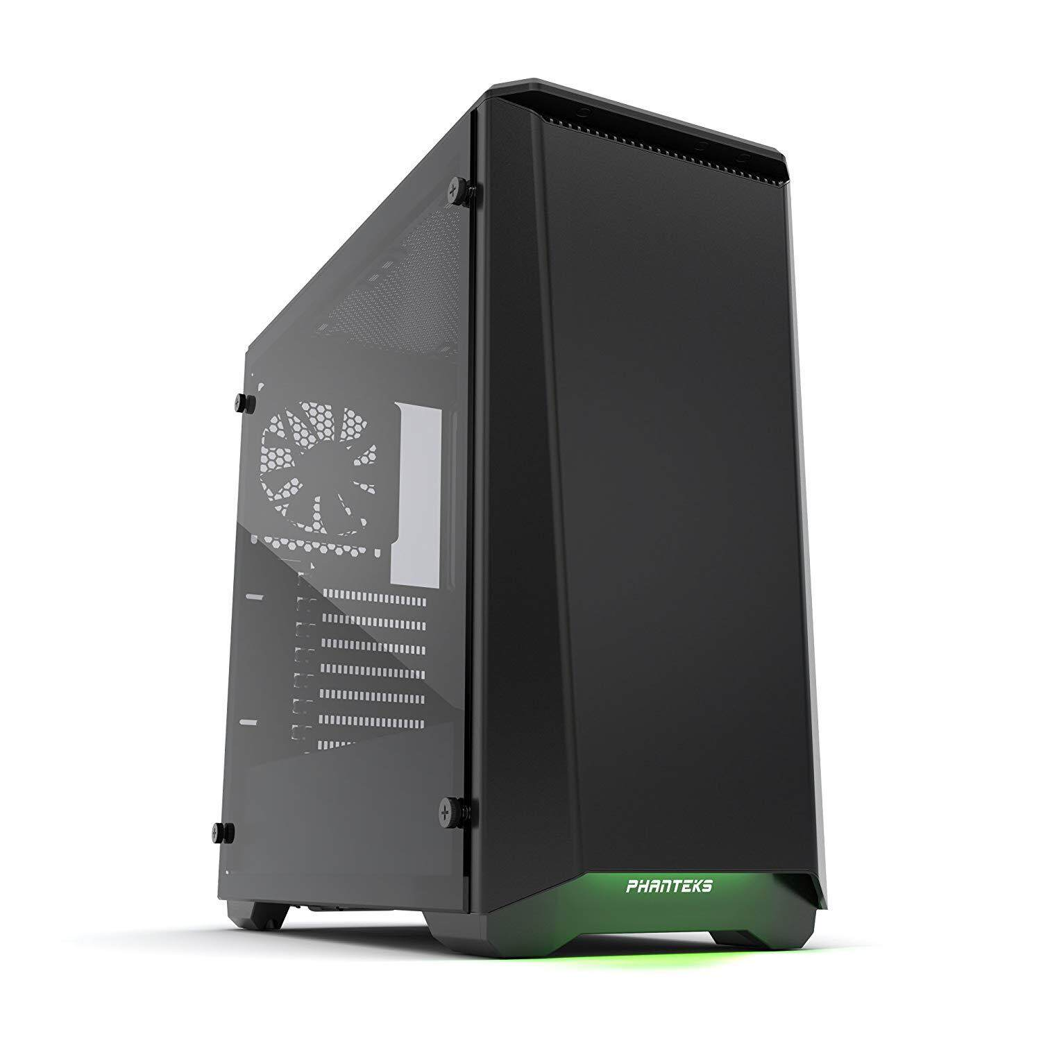 PHANTEKS ECLIPSE P400 TEMPERED GLASS BLACK CHASSIS Malaysia