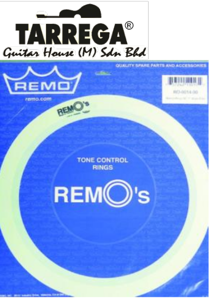 DRUM ACCESSORIES/ REMOS DRUM TONE CONTROL RING FOR 14 SIZE/ MADE IN TAIWAN/ OLD PACKING Malaysia