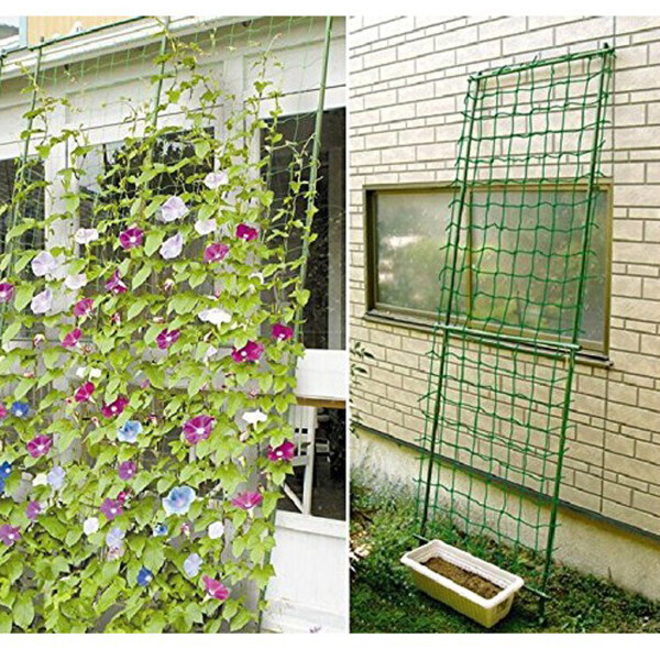 LazaraHome 3pcs Nylon Durable Heavy-Duty Plant Trellis Netting for Climbing Plants