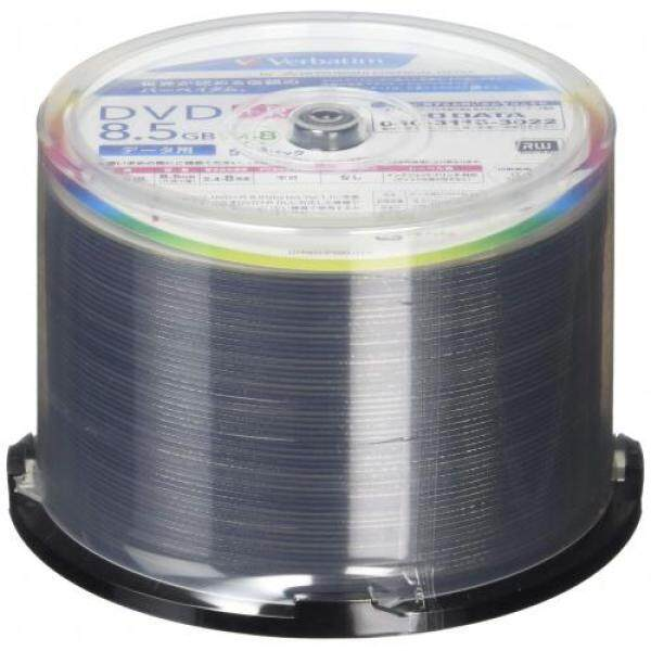 Verbatim Verbatim once recording DVD + R DL 8.5GB 50 sheets white printable single-sided, dual-layer 2.4-8 speed DTR85HP50V1FFP [Frustration-Free Packaging]