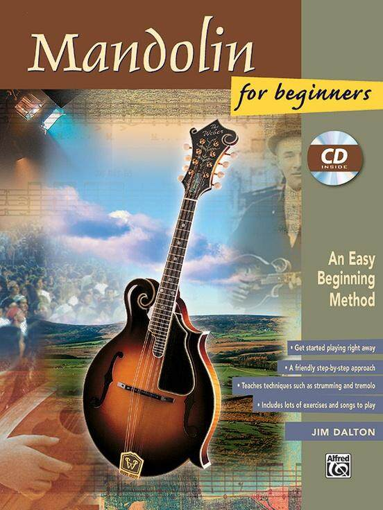 Mandolin for Beginners with CD / Mandolin Book / Mandolin Method Book / Mandolin Technique Book / Practical Book / Mandolin Lesson / Music Lesson Book / Learning Book / Theory Lesson / Theory Book