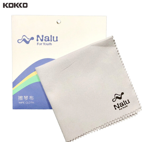 KOKKO Music Instrument Cleaning Cloth Wipes Gray Micro-Fleece Professional for Piano Flute Malaysia