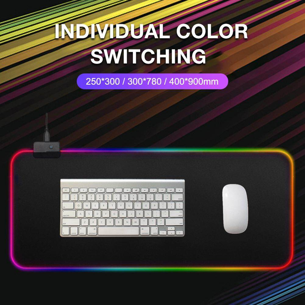 Colorful Gaming Mouse Pad Computer RGB Large Mouse Pad with Backlight Malaysia