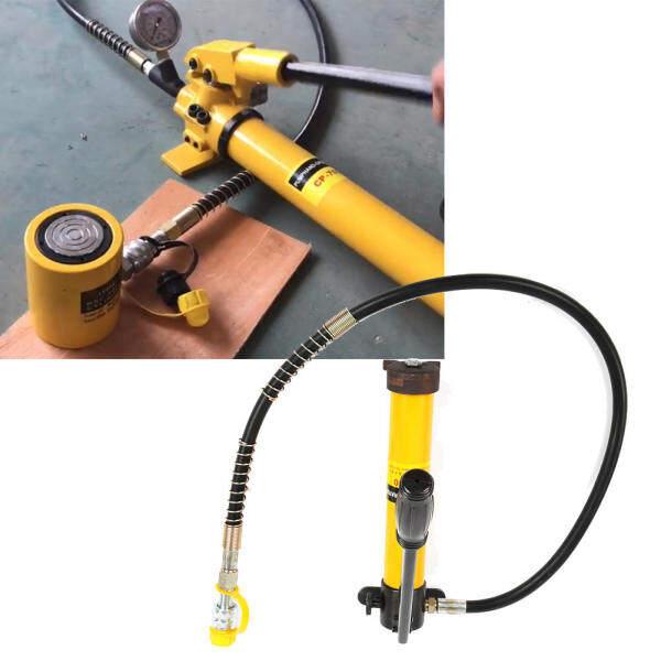 Portable Split Type 5 Ton Hydraulic Jacks Hydraulic Lift Jacks with 700/20 kg/cm² Manual Hydraulic Pump