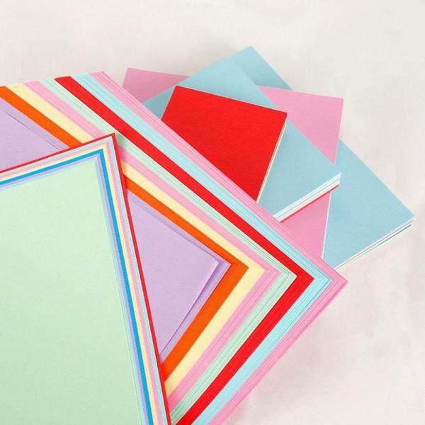 Mua 50 Giấy A4 Hỗn Hợp Màu Vuông Hai Mặt Giấy Thủ Công Màu DIY Kid Gift Folding Handmade Giấy Trang Trí Tiệc