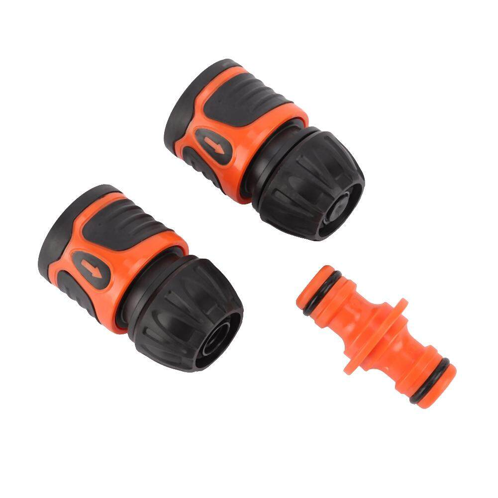 3Pcs Quick Connection Hose Connector Water Pipe Adapter Garden Accessories for 1/2 Hose
