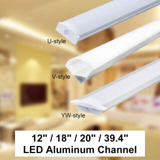 30 45 50Cm U V YW Vỏ Nhôm Dải Đèn LED Thanh Đèn Nẹp Giữ Bìa Dưới Đèn Gắn Tủ Nhà Bếp 1.8Cm Rộng thumbnail