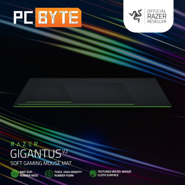 Razer Gigantus V2 Gaming Mouse Mat (Medium/ XXL/ 3XL) Malaysia