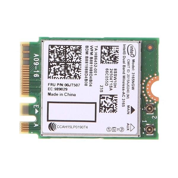 Bảng giá Băng Tần Kép Intel Không Dây Bluetooth-AC 3165 BT4.0 2.4G/5G 433M Thẻ Mạng NGFF NGW Phong Vũ
