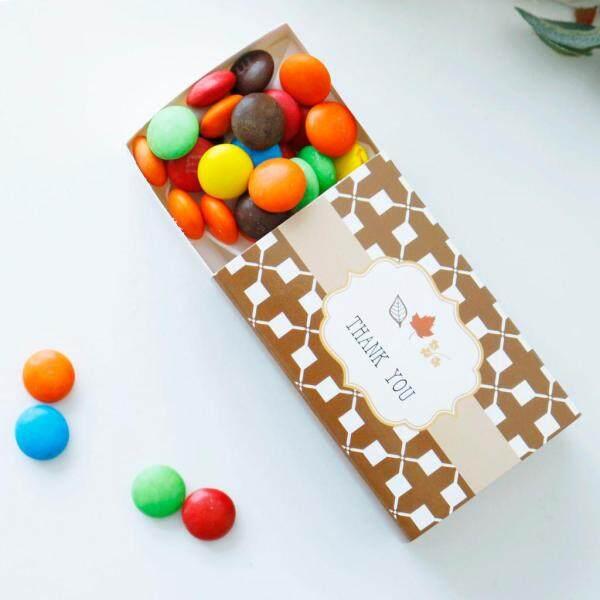 BolehDeals 12Pcs Thank You Candy Gift Box Wedding Favor Boxes