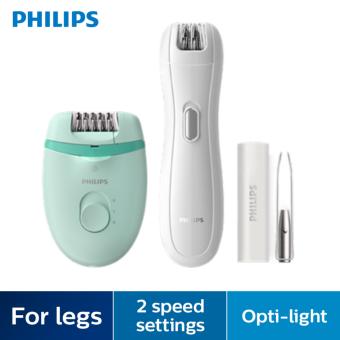 Philips Satinelle Essential Compact Epilator Epilation Set BRP529